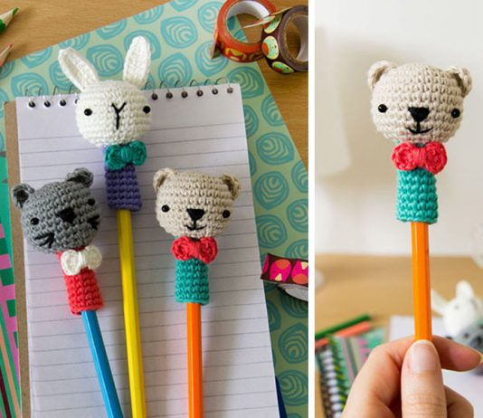 Crochet Animal Ami-pencil Free Pattern