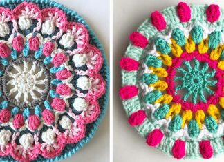 Magic Mandala Crochet Free Pattern