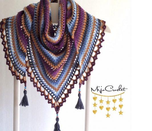 Taiga Shawl Crochet Free Pattern