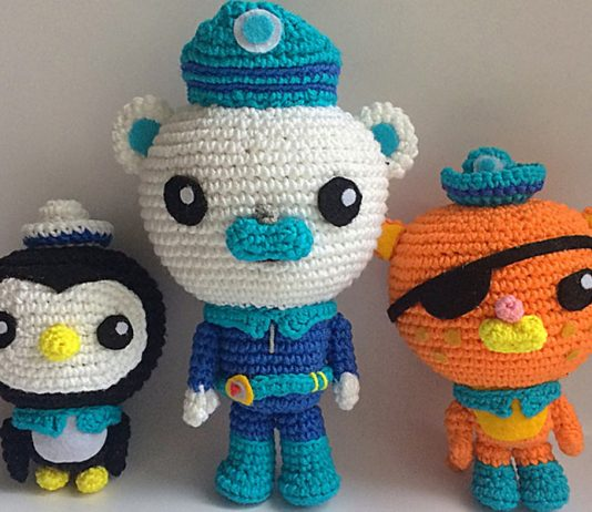 The Octonauts Crochet Free Pattern
