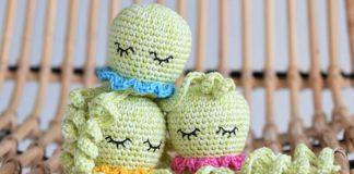 Amigurumi Octopus Crochet Free Pattern