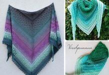Grinda Shawl Crochet Free Pattern