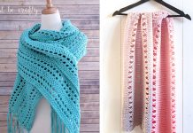 Sunset Beach Wrap Crochet Free Pattern