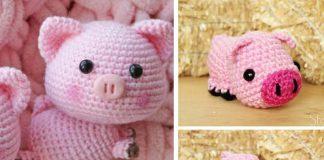 Sweet Pig Amigurumi Crochet Free Pattern