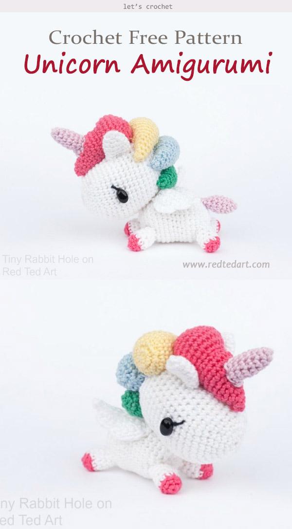 Amigurumi Unicorn Crochet Free Pattern
