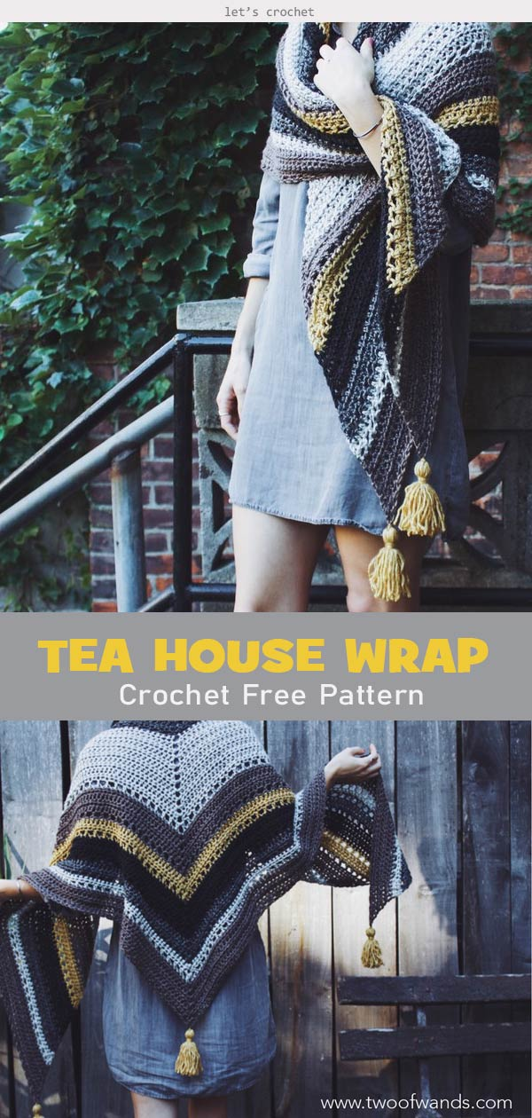 The House Wrap Crochet Free Pattern