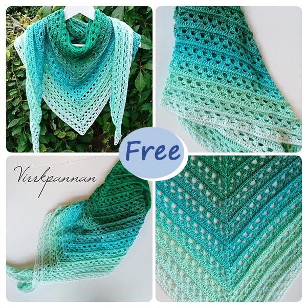 Amorous Shawl Crochet Free Pattern