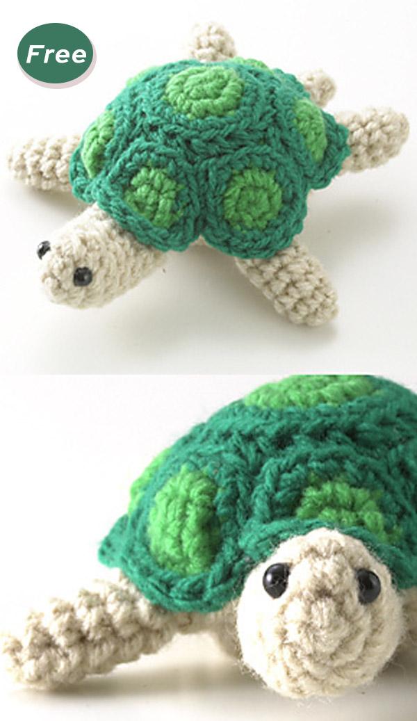 Turtle Amigurumi Crochet Free Pattern