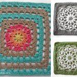 Afghan Square Crochet Free Pattern