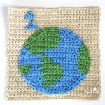 Earth Square Crochet Free Pattern