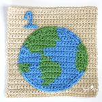 Earth Square Crochet Free Pattern