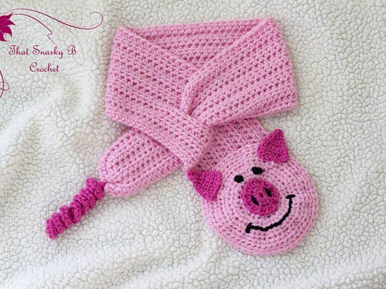 Posh Piggy Button Hole Cowl Crochet Free Pattern