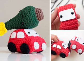Amigurumi Car Crochet Free Pattern