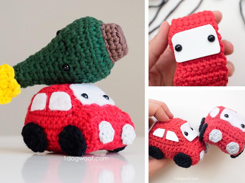 Amigurumi Crochet Car Free Patterns | Crochet car, Crochet ... | 600x800