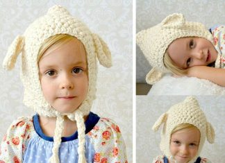 Lamb Hat Crochet Free Pattern