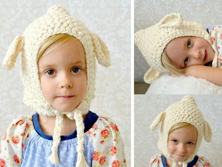 Lamb Hat Crochet Free Pattern