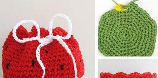 Watermelon Purse Crochet Free Pattern