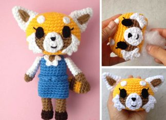 Aggretsuko Amigurumi Crochet Free Pattern