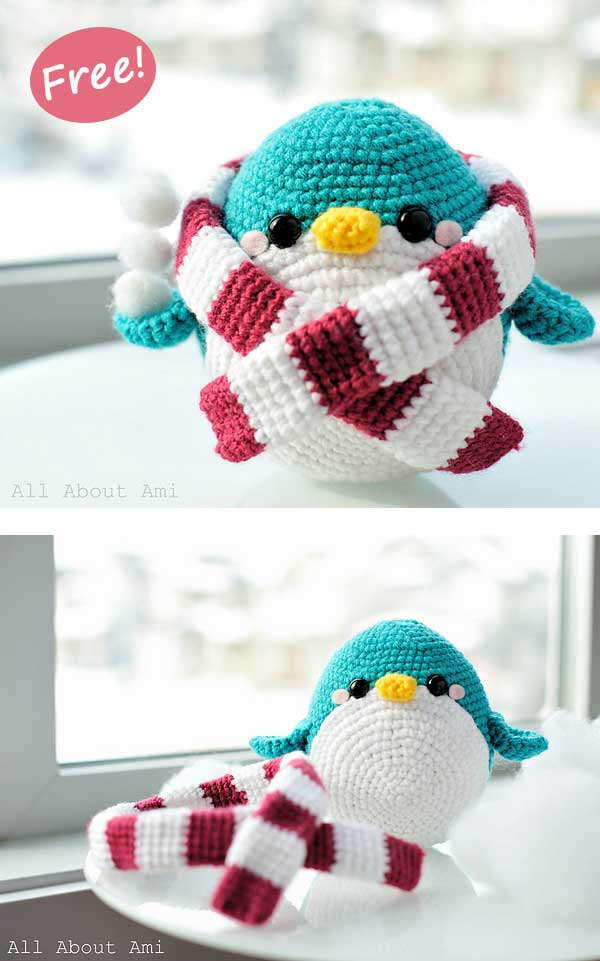 PATTERN Danny the Baby Penguin Amigurumi – Storyland Amis | 961x600