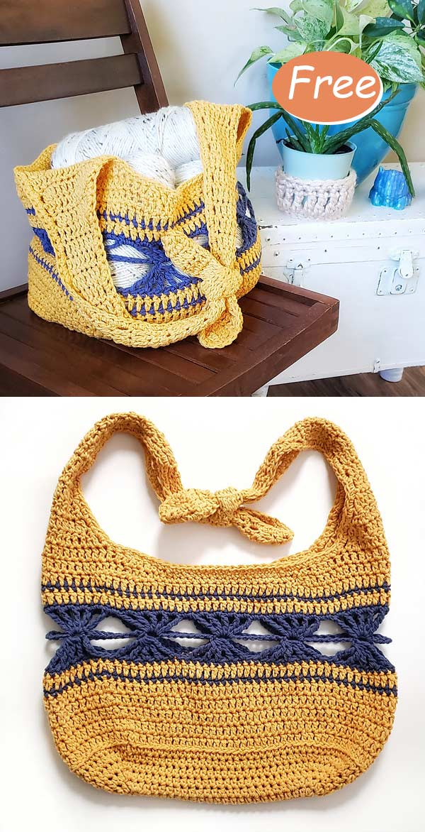 The Daydreamer Bag Crochet Free Pattern