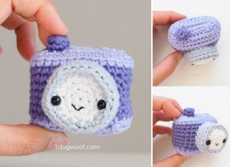 Amigurumi Camera Crochet Free Pattern