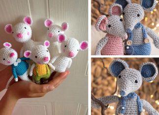 Mouse Amigurumi Crochet Free Pattern