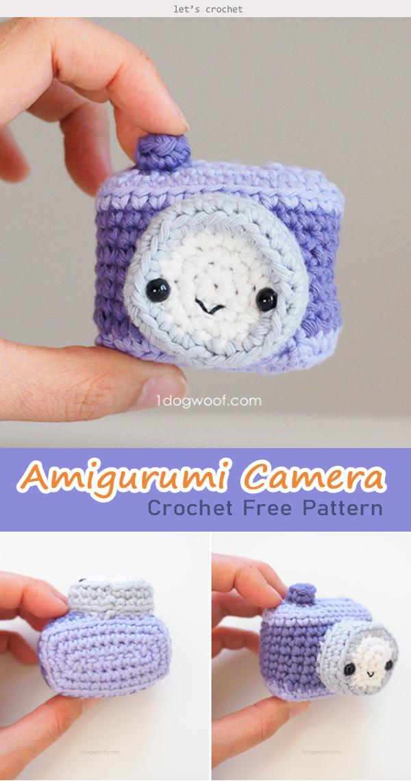Amigurumi Camera Crochet Free Pattern