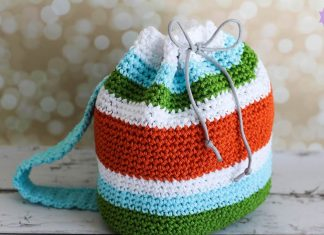 Kid Backpack Crochet Free Pattern