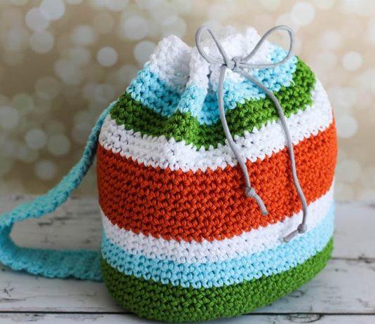 Kid Backpack Crochet Free Pattern