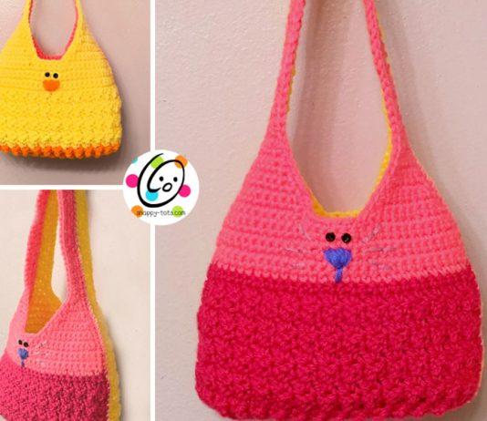 Little Girl Spring Purse Free Crochet Pattern
