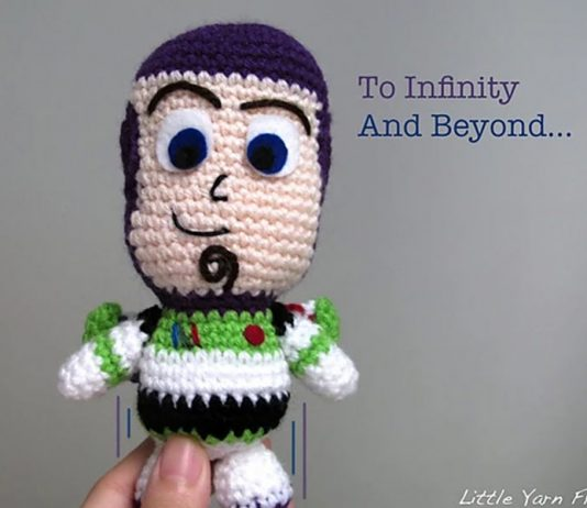 Lil' Buzz Lightyear Toy Crochet Free Pattern