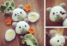 Onigiri Bear Crochet Free Pattern