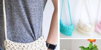 Cross-Body Crochet Bag Free Crochet Pattern