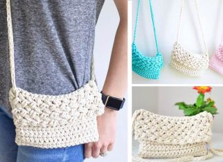 Cross-Body Crochet Bag Free Crochet Pattern