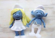 Smurfette Amigurumi Crochet Free Pattern