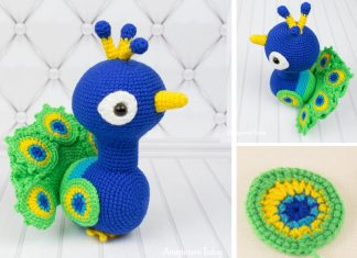 Paco the Peacock Crochet Free Pattern