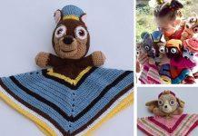 Paw Patrol Chase Lovey Crochet Free Pattern