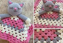 Cat Lovey Blanket Free Crochet Pattern