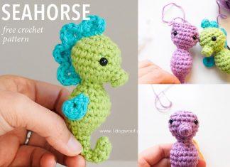 Amigurumi Seahorse Crochet Free Pattern
