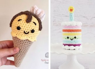 Melty the Ice Cream Cone Free Crochet Pattern