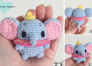 Dumbo Ufufy Elephant Amigurumi Crochet Free Pattern