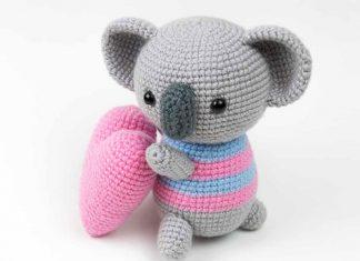 Amigurumi Koala Crochet Free Pattern