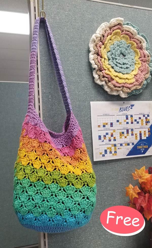 Sunny Day Market Bag Crochet Free Pattern