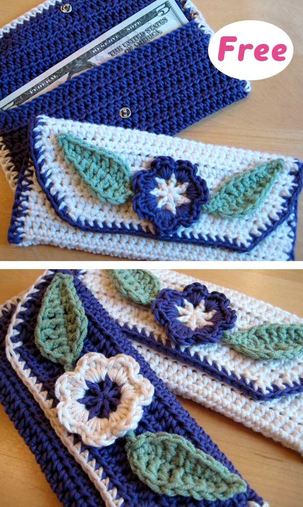 Dollar Size Purses Crochet Free Pattern
