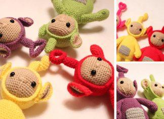 Amigurumi Teletubby Doll Toy Crochet Free Pattern