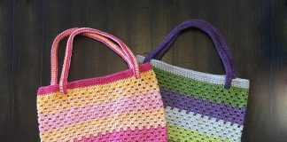 Summer Friendship Tote Crochet Free Pattern