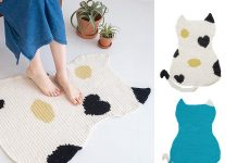 Cat Mat Free Crochet Pattern