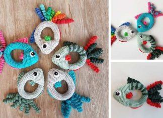 Fish Rattle Crochet Free Pattern