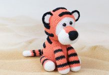 Romeo the Tiger Amigurumi Crochet Free Pattern