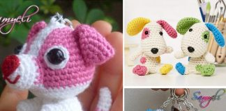 Pip and Patch Dog Crochet Free Pattern
